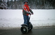 Segway im Winter